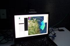 Consolidated radar-camera ground control station