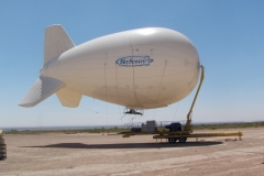 SkySentry Heavy Expeditionary Aerostat at White Sands Missile Range