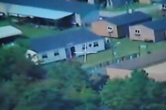 Insurgent village surveillance from 3,000 feet above